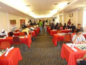 round 4. tournament hall