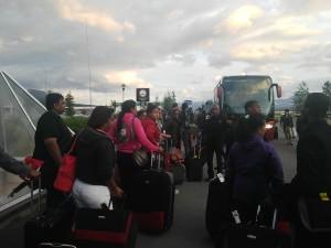 National Team arrives in Tromso
