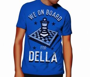 We on Board for Della T Shirt