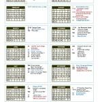 TTCA Calendar 2015